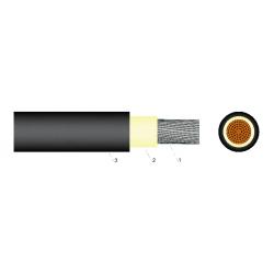 AURINKOPANEELIKAAPELI 1 X 6 mm